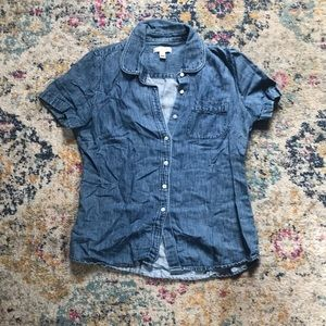 J.Crew Chambray Shirt Size 4